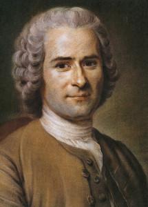 Jean Jacques Rousseau.