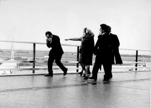 Emigranti, Fiumicino, 1968 (ph. Piermarini).