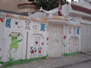 Quartiere M'hamdiya, asilo nidoi (ph. C. Sebastiani)