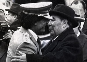 Breznev-e-Gheddafi