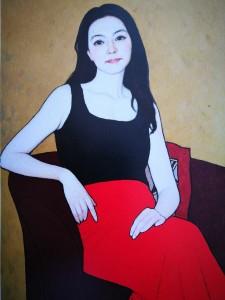 Jin Shangyi, La gallerista, 2016
