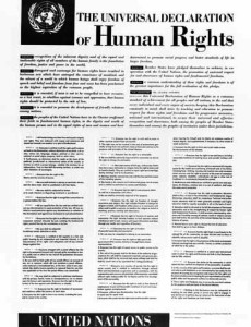 Poster-Depicting-Universal-Declaration-of-Human-Rights-English-Version
