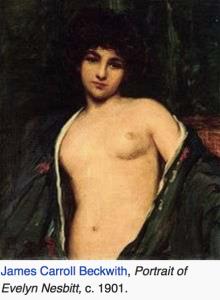 Il ritratto del 1901 di Evelyn di James Carrol Beckwith