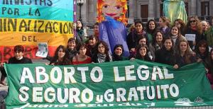 Manifestazioni in Argentina a favore dell'aborto