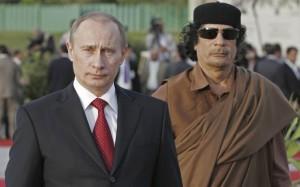 Gheddafi-e-Putin
