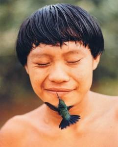 Yanomami-e-colibrì