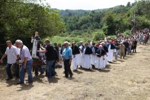 Pianellu (Corsica), agosto 2009 Festa di S. Vincente e la Confraternita del SS. Crocifisso