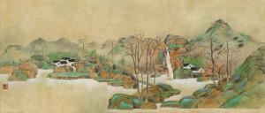 Zhang Yidan, Paesaggio, 2014
