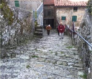 Pontito, strada (ph. De Simonis)
