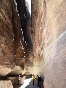 Petra, lungo il canyon (ph. Corrao)