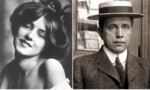 Evelyn Nesbit e Harry K. Thaw