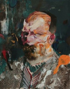 Adrian-Ghenie-Self-portrait-as-Vincent-Van-gogh-2016