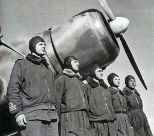 Il maggiore Buscaglia e il suo equipaggio