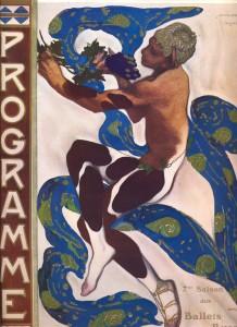 La compagnia dei Balletti russi di Sergej Djagilev, 1900.
