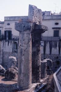 Siracusa, tempio di Apollo (ph. Malvezzi, 2017)