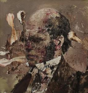 Adrian Ghenie, Charles-Darwin as a Young Man, 2013