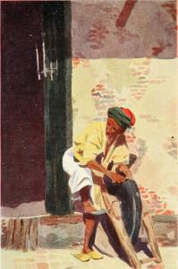 Giovinetta araba (da Beltramelli).