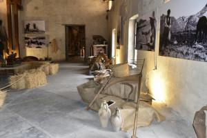 La mostra presso il mulino (ph. S. Plano).