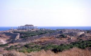 Selinunte, l'area archeologica vista da nord (ph. Malvezzi, 2017)