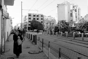 Tunisi, un quartiere della capitale (ph. Roberto Ceccarelli)