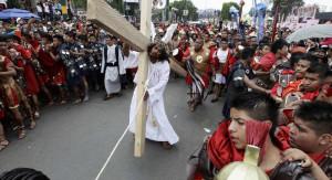 La settimana santa a Iztapalapa.