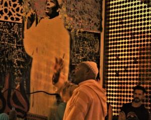 L'Hajj Ahmed Ezzarghani - Cafe Clock, storytelling session - Marrakech (ph. E. Scopelliti).
