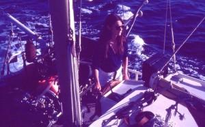 Anne al timone della Galathee, 1978