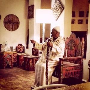 -l'Ḥajj-Ahmed-Ezzarghani-Cafe-Clock-storytelling-session