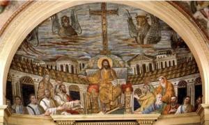 Basilica-di-Santa-Pudenziana-–-Mosaico-absidale-–-390-d.C