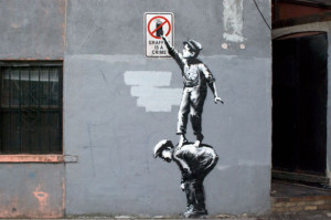 Banksy.-Graffiti-is-a-crime-New-York