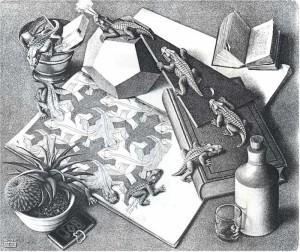 Escher-Rettili
