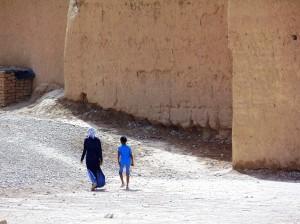 Rissani-Marocco-sud-orientale-resti-di-fortificazioni-berbere