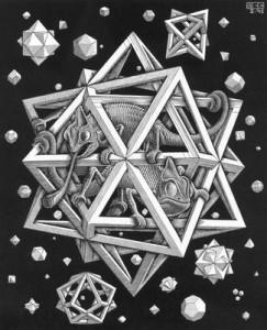 Escher-Stars.