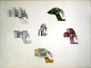 Foucault-in-unopera-di-Francesco-Clemente-1978