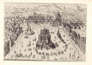 Macchina-di-fuochi-artificiali-nel-Piano-del-Palazzo-Reale-inc.-F.sco-Cichè-sec.-XVIII.