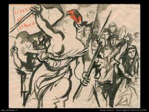 Libertè-egalitè-fraternitè-Guttuso-1950