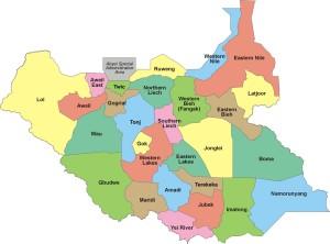 Divisione-amministrativa-del-Sud-Sudan-in-28-stati-2015.