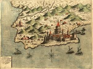 Mappa-del-porto-di-Durazzo-risalente-al-1573-pinargenti