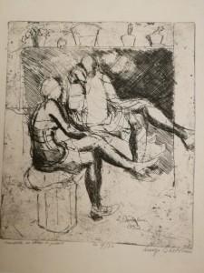 L.-Bartolini-Modelle-in-attesa-di-posare-1933.
