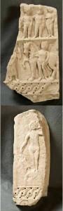 Frammento-di-stele-votiva-a-Saturno-con-Dioscuri-e-altre-divinità-Da-Cartagine.