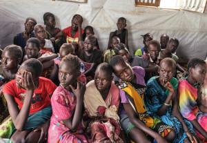 Bambini-profughi-in-Sud-Sudan.