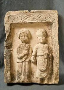 Stele-funeraria-con-coppia-di-coniugi.Stele-funeraria-con-coppia-di-coniugi.