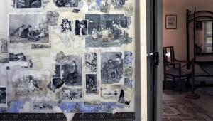 1luca-ferracane-casa-museo-e-biblioteca-comunale-di-luigi-capuana-mineo-studiolo-con-alle-pareti-un-fitto-collage-di-stampe-dellepoca-assemblato-da-capuana-stesso-2019