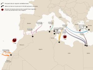3-rotte-di-migranti-nel-mediterraneo