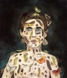 7-bruno-caruso-incantatore-di-insetti-1985-olio-su-tavola-35-x-40-cm