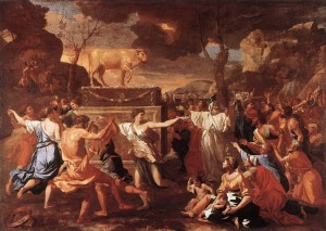 poussin-dance-around-the-golden-calf-london-national-gallery