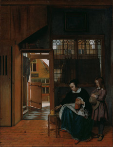 a-woman-preparing-bread-and-butter-for-a-boy-by-pieter-de-hooch-1660-63getty-center-los-angeles