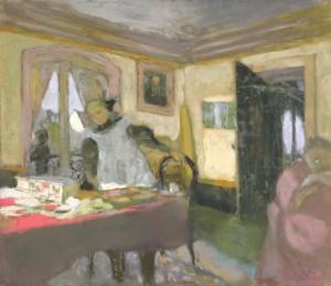 The Laden Table c.1908 by Edouard Vuillard 1868-1940