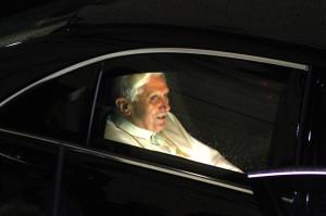 Papa Benedetto XVI Ratzinger in visita a Brescia