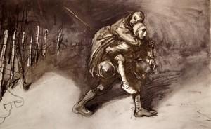 aaa-steinlen-les-deux-amis-1917